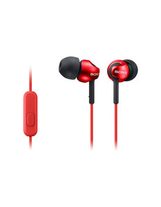 Sony MDR-EX110LP In-Ear Headphones, Red