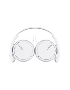 Sony MDR-ZX110W On-Ear Headphones, White