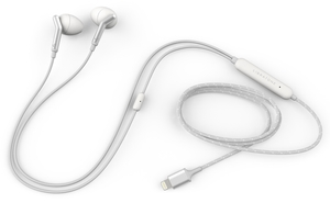 Q Adapt In-Ear, Lightning, Cloudy White