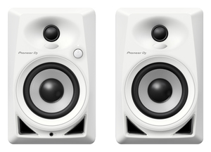 "DM-40 4"" comp act monitor speaker White"