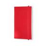 Paper Tablet Con Pattern, Dotted, Red