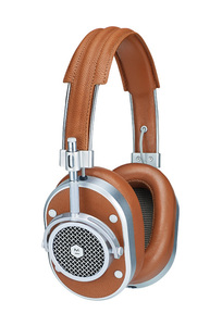 MH40 Over-Ear Brown Silver