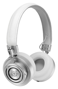MH30 On-Ear White/Silver