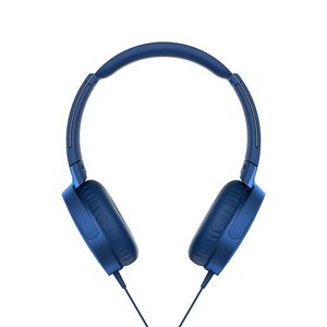 Sony MDR-XB550AP On-Ear Headphones, Blue