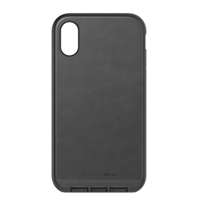 Evo Luxe for iPhone XR - Black leather
