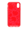 Pure Clear Christ Liberty iPhone XR red