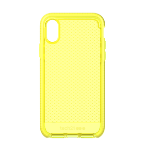 Evo Check for iPhone XS Neon Yellow