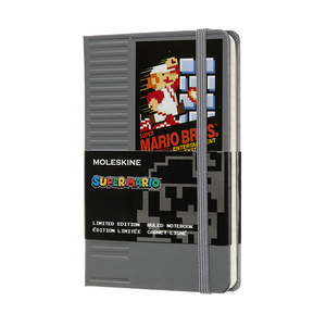 Notebook S.Mario A6 Ruled HC, Cartridge