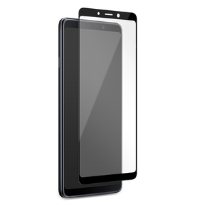 Tempered Glass Frame Samsung A9 Black