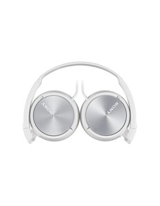 MDR-ZX310W Lifestyle Headphones White