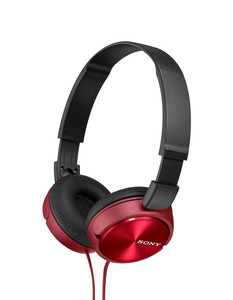 MDR-ZX310R Lifestyle Headphones Red