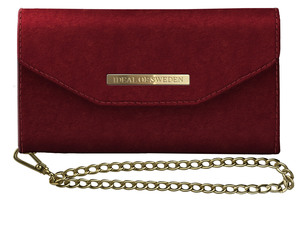 Mayfair Clutch Velvet SamGal S10E Red