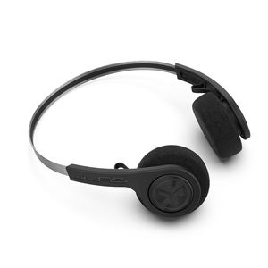 Rewind Wireless Retro Headphones Black