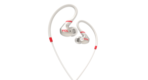 ACTV100 In-Ear Crimson White
