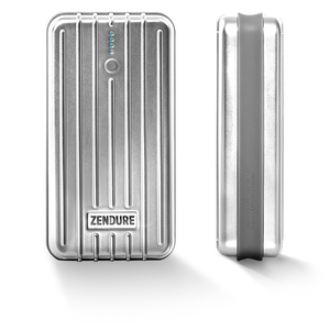 A2 Portable Charger (6,700mAh) Silver