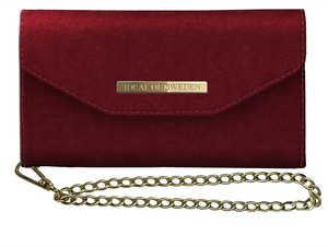 Mayfair Clutch Velvet iPh 11 Pro Red