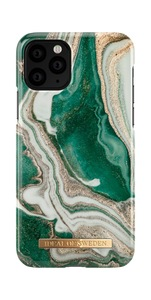 Fashion Case iPh 11 Pro Golden Jade Marb