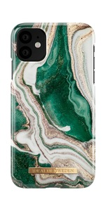 Fashion Case iPh 11 Golden Jade Marble