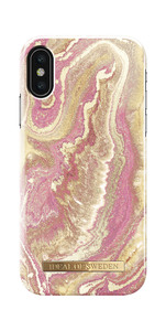 Fashion Case iPhone X/XS Gold Blush Marb