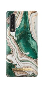 Fashion Case Huawei P30 Golden Jade Marb