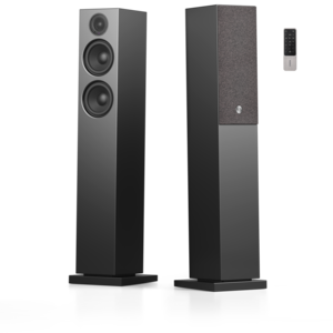 A36 TV Towerspeaker Pair Black