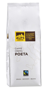 ALPS-COFFEE Caffè Crema Poeta 500g