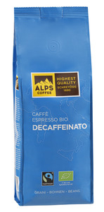 ALPS-COFFEE Espresso Deca Bio 500g