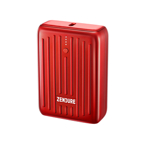 SuperMini Port. Charger (10,000mAh) Red