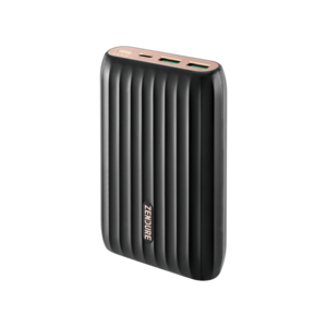 X5 15,000mAh Powerbank & Hub, Black
