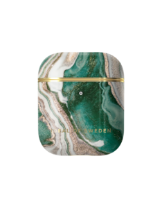 AirPods Case Print Golden Jade Marble