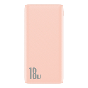 Bipow Powerbank PD+QC 10000mAh 18W Pink