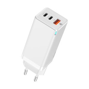 GaN Laptop Charger C+C+A 65W EU White