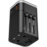 2in1 Univ Travel Quick Charger 18W Black