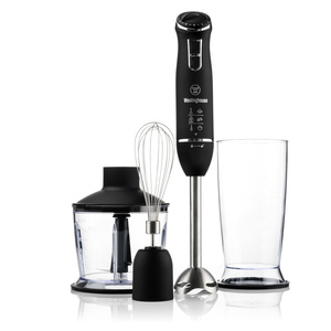 3-in-1 Hand Blender Set Black