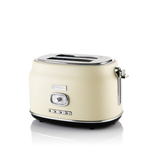 2 Slice Retro Toaster White