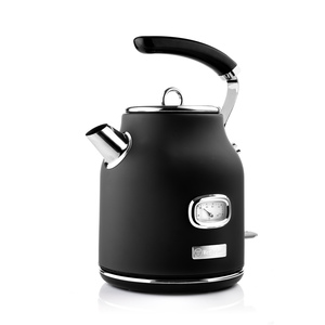 Electric Retro Kettle 1.7L Black