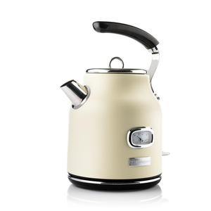 Electric Retro Kettle 1.7L White