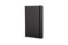 Notebook  L/A5, Plain, Black
